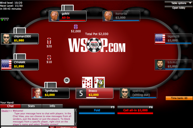 Wsop online poker real money casino states in india