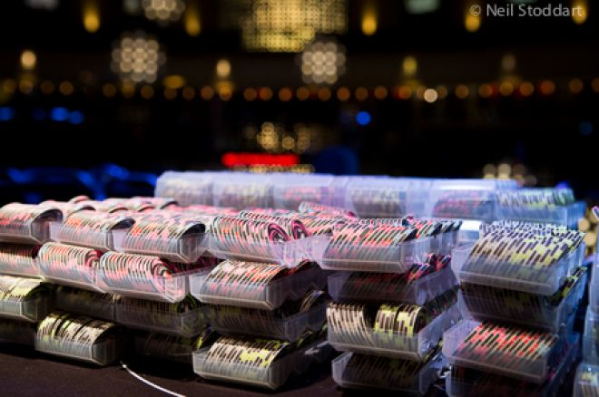 Daniel Stacey Leads the UKIPT London Main Event; 35 Players Remain 0001