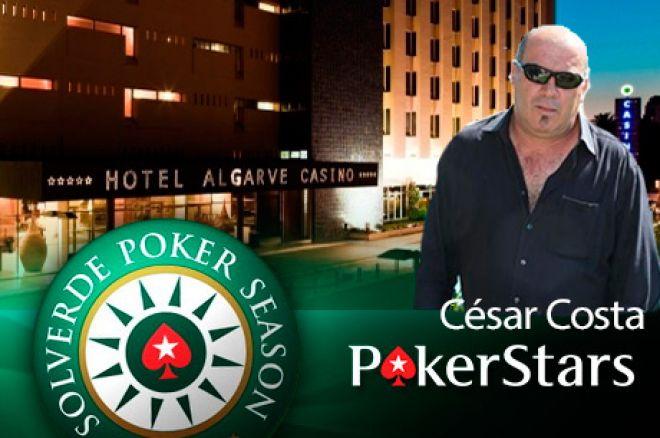 PokerStars Solverde Season: César Costa Venceu em Portimão (€6,357) 0001