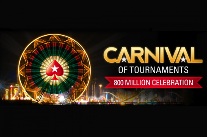 "PokerStars Announces ""Carnival of Tournaments"" To Mark 800 Millionth Tourney 0001"