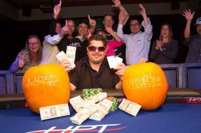 Джеймс Джефф выиграл турнир Heartland Poker Tour в Club One Casinо 0001
