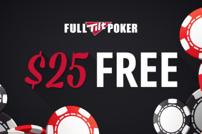 Limited Time Offer: Grab a Free $25 While You Can at Full Tilt Poker 0001