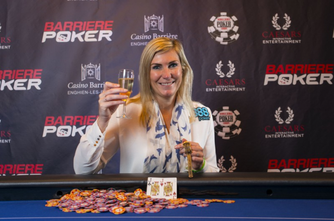 Jackie Glazier Earns First 2013 WSOP Europe Bracelet in Ladies Event 0001