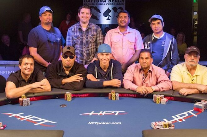 The HPT Daytona Beach Kennel Club & Poker Room Final Table.
