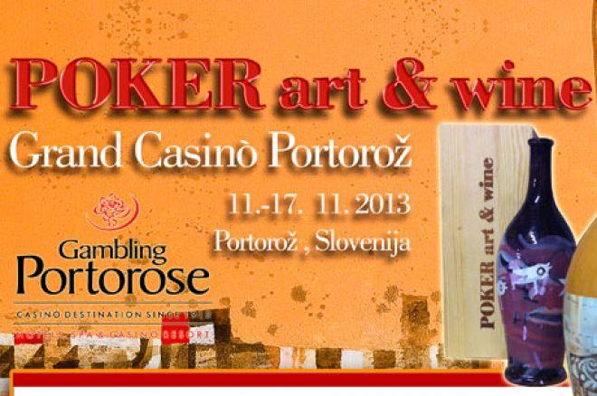 Poker Art & Wine Festival u Portorožu, Slovenija od 11.-17. Nov. 0001