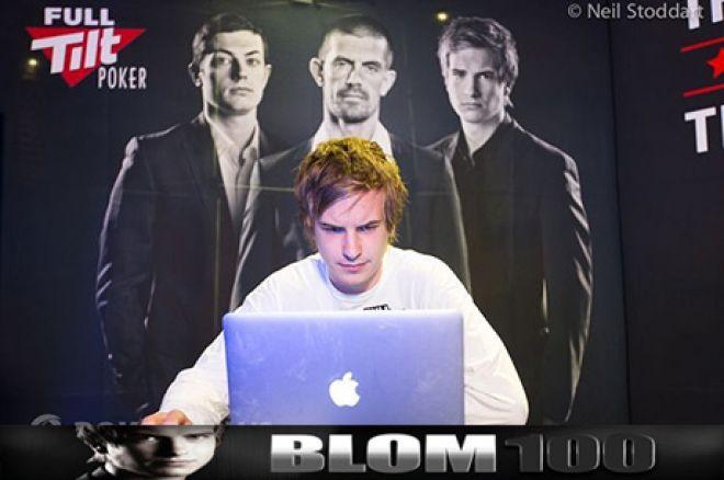 "Joga Heads-Up contra Viktor ""Isildur1"" Blom Com o Blom 100 na Full Tilt Poker 0001"