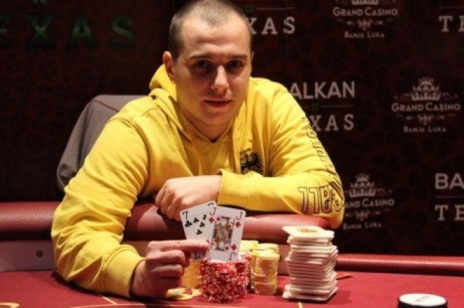 Davor Božilović je Pobednik Balkan Texas Poker Turnira za €2,610 i Ulaz na Eureka Prag ME 0001