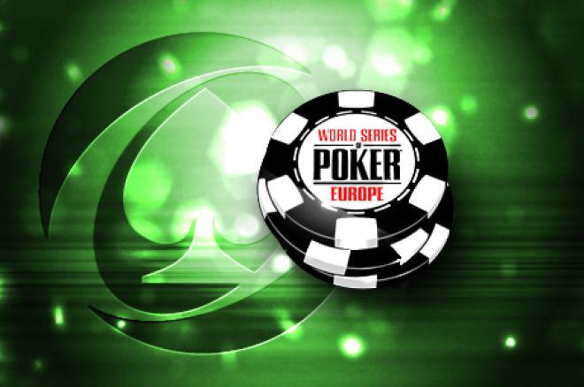 2013 WSOP Europe: Marcin Wydrowski w kasie Main Eventu [Na żywo] 0001