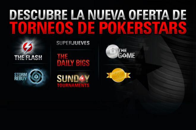 PokerStars.es presenta su nueva oferta de torneos 0001