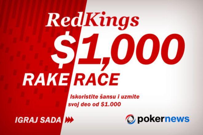 Iskoristite Šansu i Uzmite deo od $1,000 na RedKings Rake Trci 0001