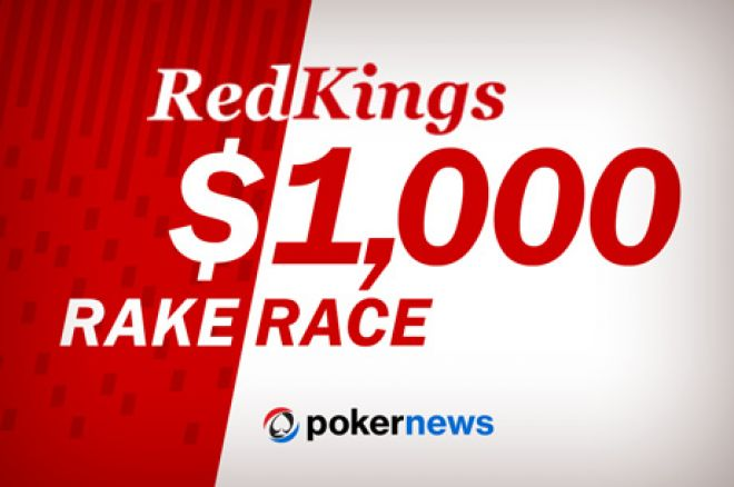$1,000 Rake Race This Week at RedKings Poker! 0001