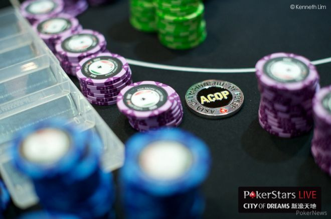 2013 PokerStars.net APPT Macau Asia Championship of Poker Day 3: Money Bubble Bursts 0001