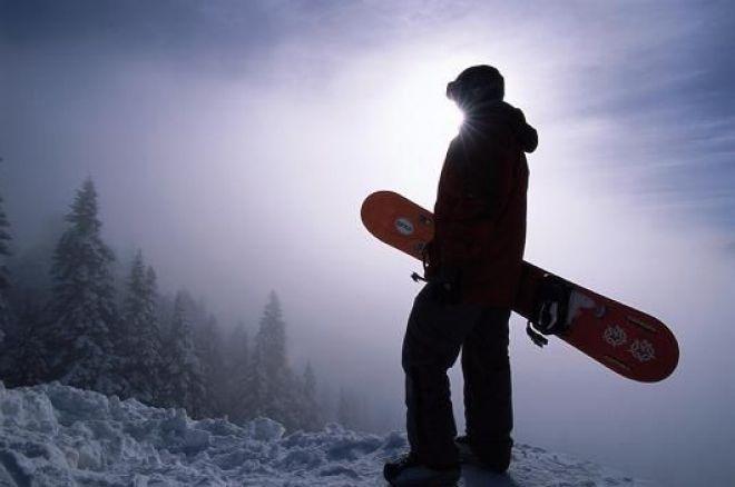 Коул Саут покатається на сноуборді в Антарктиді 0001