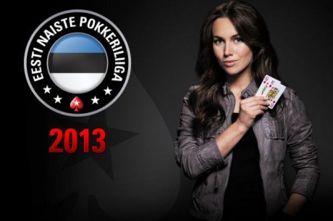 Eesti naiste pokkeriliiga 2013 finaal toimub 14. detsembril 0001