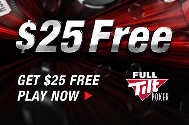 Enjoy Free $25 Worth of Full Tilt Poker Rush Poker Tickets! 0001