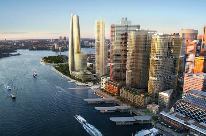 Crown's proposed casino and hotel tower at Barangaroo on Sydney Harbour will be its first site in the city.