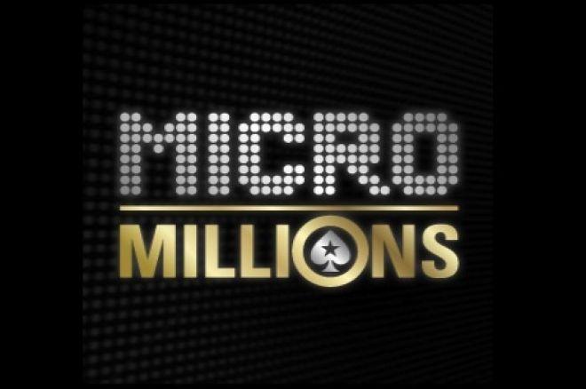 Rytoj prasideda mažų įpirkų MicroMillions turnyrų serija 0001