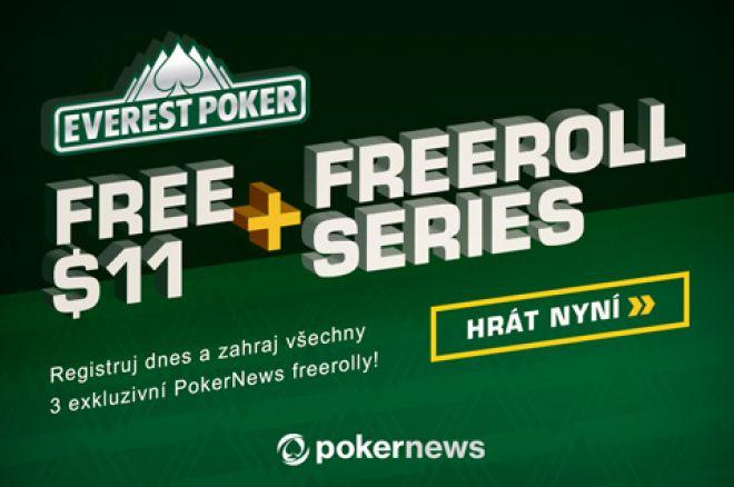 Vyhraj podíl z $1,000 v exkluzivních PokerNews Everest Poker Freerollech 0001