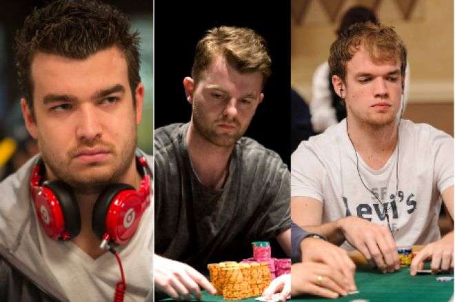 Chris Moorman, Sebastian Saffari and Rhys Jones