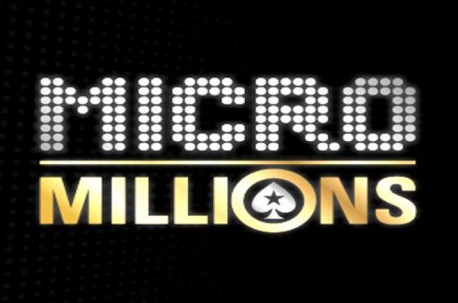 Wyniki eventów 84-100 podczas mijającej serii Micro Millions, sprawdź ile wygrali nasi! 0001