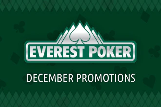 Check Out Some of the Amazing December Promotions at Everest Poker 0001