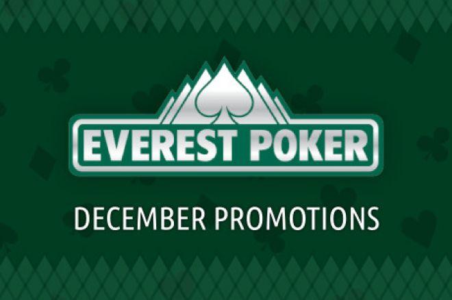Sprawdź promocje grudniowe w Everest Poker! 0001