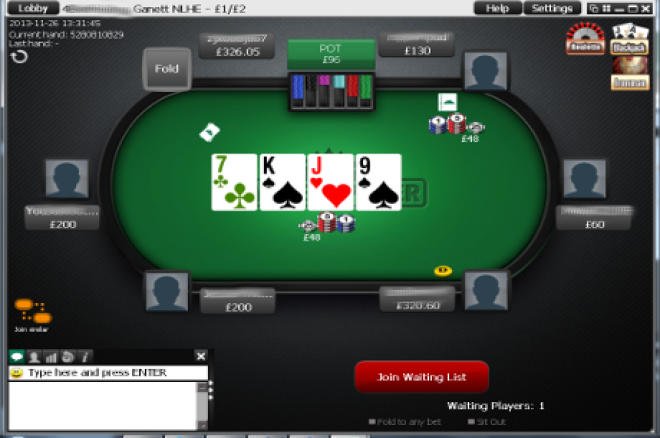 iPoker are removing all high stakes cash game tables
