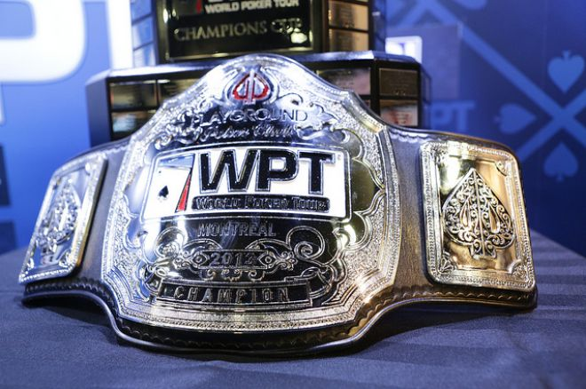 WPT Championship Belt