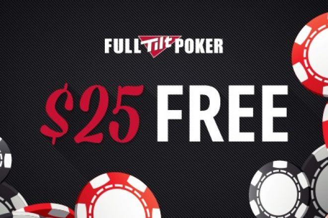 Paskutinė galimybė pasiimti nemokamus $25 Fullt TIlt Poker kambaryje 0001