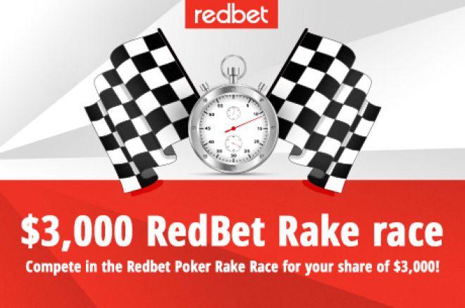 Skelbiamas antrasis raundas $3,000 vertės RedBet Poker mokesčių lenktynėse 0001