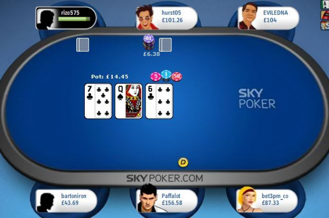 Sky Poker Looks to Attract News Players with Major Software Upgrade 0001