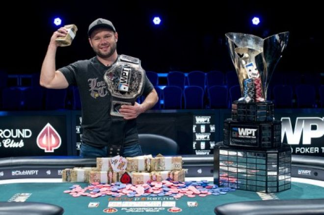 Derrick Rosenbarger, campeón del World Poker Tour Montreal