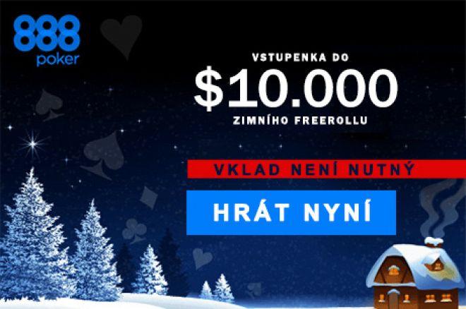 Zimní edice Gr888 nabízí každý den v prosinci freeroll $10,000 a další hodnotné dary... 0001
