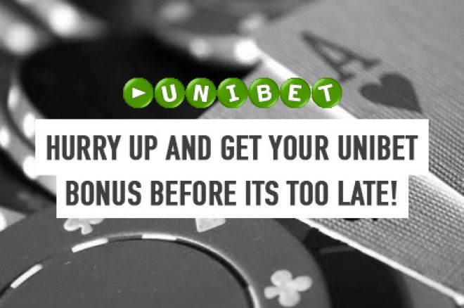 Hurry! Unibet Poker's Sign-up Bonus Ends on December 16th! 0001