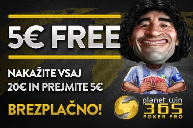 PlanetWin 5$ free