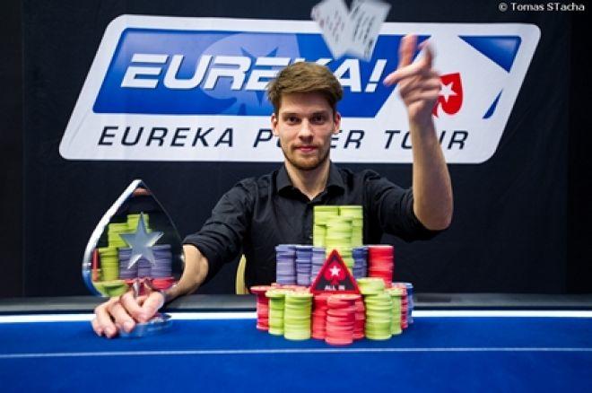 Titul šampiona rekordní pražské Eureky získal Němec Dimitri Holdeew 0001