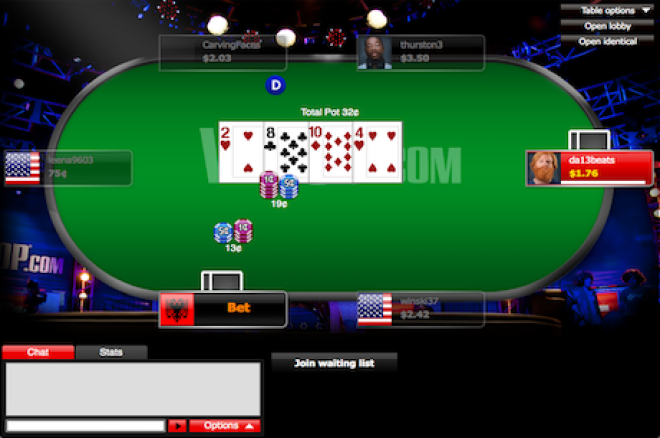 PokerNews' Guide To Micro-Stakes No-Limit Hold'em Cash Games On WSOP.com | PokerNews