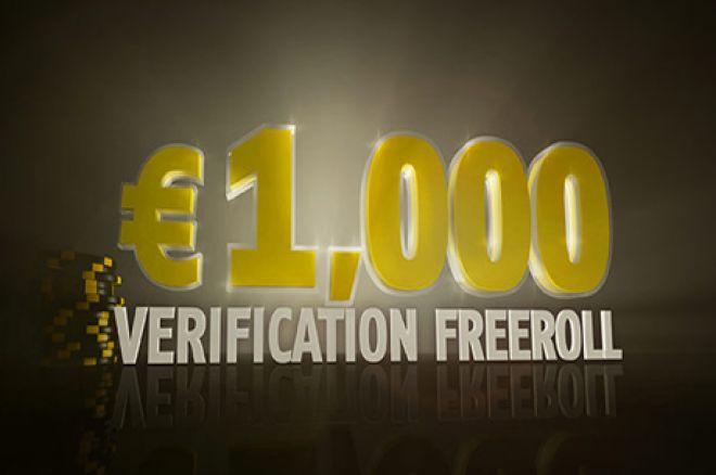 Freeroll 1.000€ verificación Bwin.es
