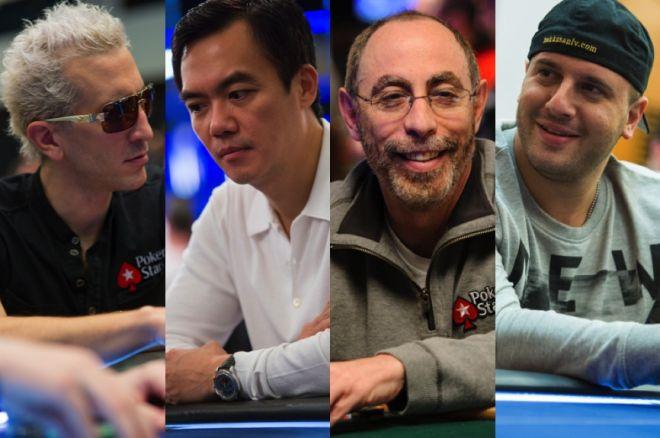 "Bertrand ""ElkY"" Grospellier, John Juanda, Barry Greenstein & Michael Mizrachi"
