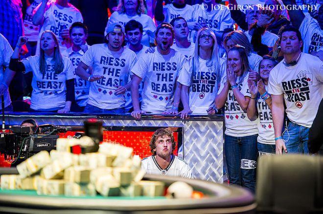 WSOP čempionas Ryan Riess