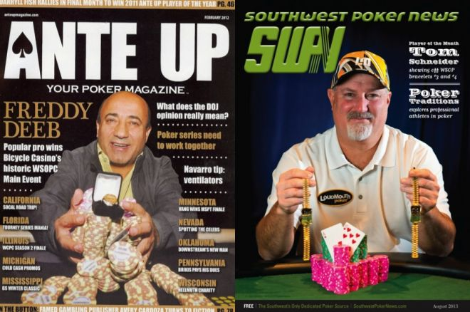 Southwest Poker News to Merge into Ante Up Magazine 0001