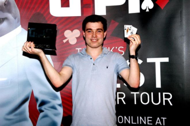 Ben Jones after winning GUKPT Bolton in 2012