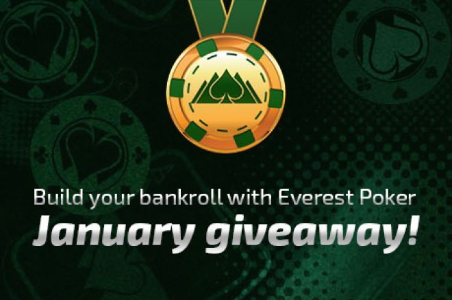 Jumpstart your Bankroll with Everest Poker's January Rewards Giveaway 0001
