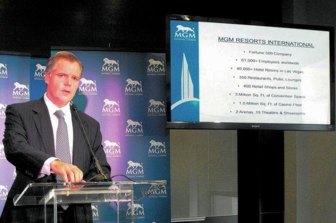 MGM Resorts International CEO JIm Murren