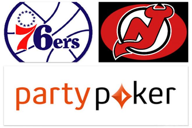 partypoker Enters Partnership with Philadelphia 76ers and New Jersey Devils 0001