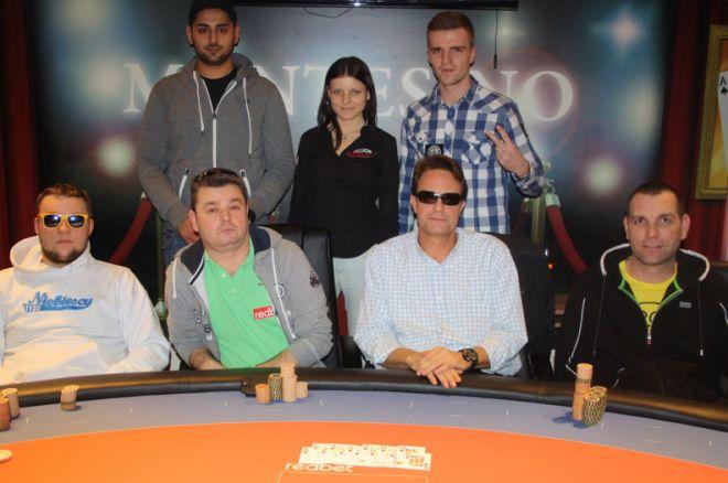 Nagy Zoltán a 7. Soós Tamás a 14. a Montesino RedBet Poker Open főversenyén 0001