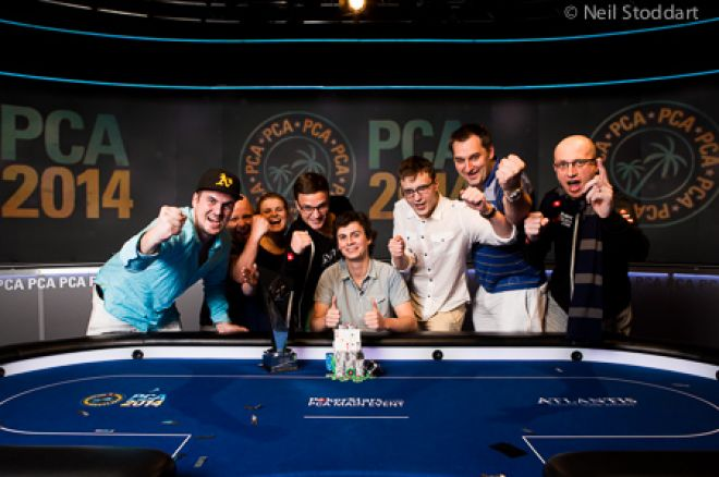 Dominik Panka Vence Main Event PokerStars Caribbean Adventure 2014 (1,423,096) 0001