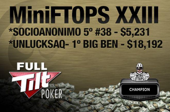 """Fábio """"Wannabe"""" Dâmaso vence Big Ben ($18k), Poças é 5º no #38 das MiniFTOPS ($5,2k) 0001"""