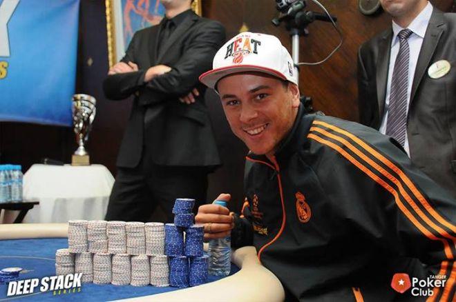Claudio Coelho 3º nas Deep Stack Series Tânger (€8,000) 0001