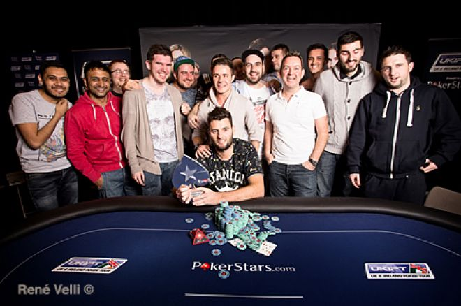 UKIPT Season 4 Edinburgh Champion Dean Hutchison